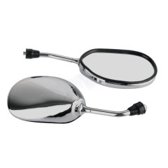 Зеркало заднего вида DM-227, хромированное