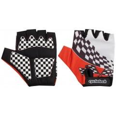 Перчатки велосипедные детские Racer красные