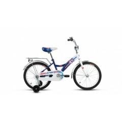 Велосипед ALTAIR City boy 18 (18'' 1ск.) белый / синий