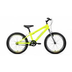 """Велосипед ALTAIR MTB HT 20 1.0 (20"""" 1ск) зеленый/серый"""
