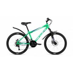 """Велосипед ALTAIR MTB HT 24 3.0 disc (24"""" 18ск) зеленый /8712003000, RBKN81N4P005"""