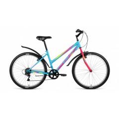 """Велосипед ALTAIR MTB HT 26 1.0 Lady (26"""" 18 ск рост 17"""")  голубой"""