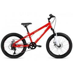 """Велосипед ALTAIR MTB HT 20 disc (20"""" 6ск) красный"""