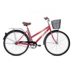 """Велосипед Foxx 28"""" Fiesta  красный + передняя корзина"""
