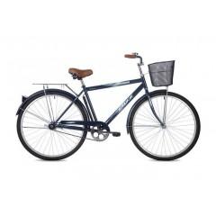 """Велосипед Foxx 28"""" Fusion  синий + передняя корзина"""