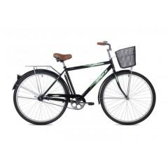 """Велосипед Foxx 28"""" Fusion  черный + передняя корзина"""