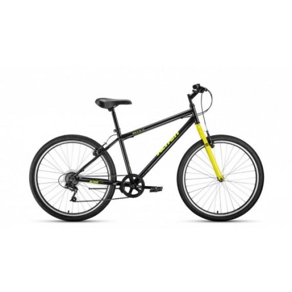 "Велосипед ALTAIR MTB HT 26 1.0 (26"" 7 ск. рост 17"") 2020-2021, темно-серый/черный, RBKT1MN66003"