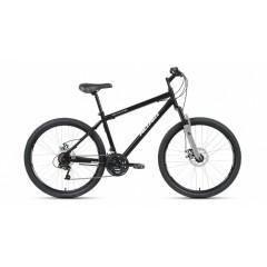 "Велосипед ALTAIR MTB HT 26 2.0 disc (26"" 21 ск. рост 17"") 2020-2021, черный/серый, RBKT1MN6P002"
