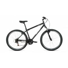 """Велосипед ALTAIR MTB HT 27,5 1.0 (27,5"""" 21 ск. рост 17"""") 2020-2021, черный/серебристый, RBKT1MN7Q002"""