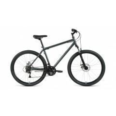 """Велосипед ALTAIR MTB HT 27,5 2.0 disc (27,5"""" 21 ск. рост 19"""") 2020-2021, темно-серый/черный"""