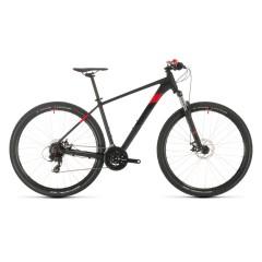 Cube  велосипед  Aim 2020   16'' (27.5)     black-n-red