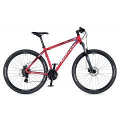 "Author велосипед  Impulse - 2020  17"" author red-black"