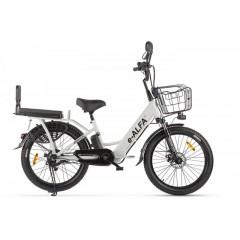 Велогибрид GREEN CITY e-ALFA Fat серебристый - 2161