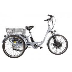 Трицикл CROLAN 500W silver-1927