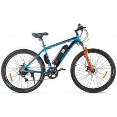 Велогибрид Eltreco XT 600 D (Сине-оранжевый-2387)