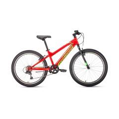 Велосипед FORWARD TITAN 24 1.0 (24'' 6ск) красный /, RBKW01N46003