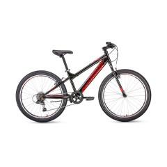 Велосипед FORWARD TITAN 24 1.0 (24'' 6ск) черный /, RBKW01N46002
