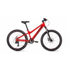 Велосипед FORWARD TITAN 24 2.0 Disc (24'' 6ск) красный /, RBKW01N46006
