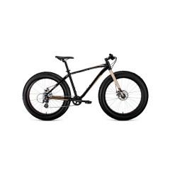 """Велосипед BIZON 26 (26"""" 8ск рост 18'') черный / бежевый /8712003000, RBKW0W66P002"""