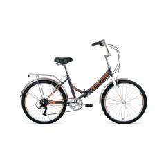 Велосипед FORWARD VALENCIA 24 2.0 скл. (24'' 6ск.) серый / бежевый /8712003000, RBKW0YN46003
