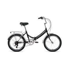 Велосипед FORWARD ARSENAL 20 2.0 скл. (20'' 6ск.) черный / серый /, RBKW0YN06002