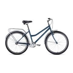 Велосипед FORWARD BARCELONA 26 1.0 (26'' 1ск.) серый /8712003000, RBKW9RN61003