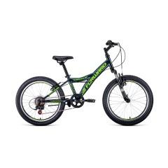 Велосипед FORWARD DAKOTA 20 2.0 (20' 6ск ) серый/желтый
