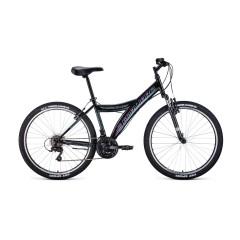"""Велосипед FORWARD DAKOTA 26 2.0 (26"""" 18ск) черный / голубой /, RBKW0MN6P003"""