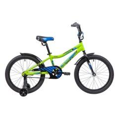 """Велосипед NOVATRACK 20"""" CRON, зеленый, алюм.рама, тормоз нож, короткие крылья, нет багажника"""