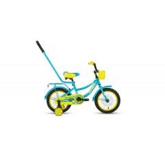 """Велосипед FORWARD FUNKY 14 (14"""" 1 ск) бирюзовый"""