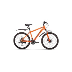 "Велосипед FORWARD HARDI 26 2.0 disc (26"" 21ск рост 17'') оранжевый /, RBKW0M66Q010"