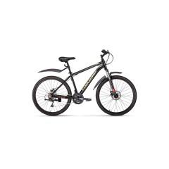 """Велосипед FORWARD HARDI 26 2.0 disc (26"""" 21ск рост 17'') черный /, RBKW0M66Q005"""