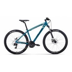 """Велосипед FORWARD NEXT 27.5 2.0 disc алюм. (27.5"""" 24ск рост 19'') зеленый/бежевый"""