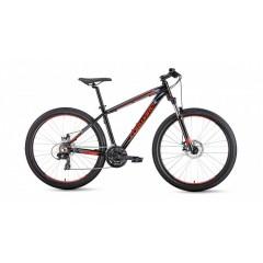 "Велосипед FORWARD NEXT 27.5 3.0 disc алюм. (27.5"" 24ск рост 19'') серый/оранжевый /8712003000, RBKW9"
