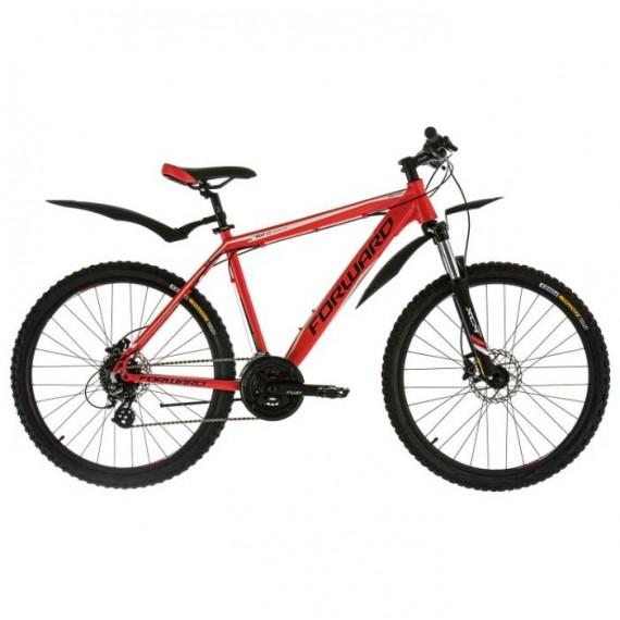 """Велосипед FORWARD NEXT 3.0 disk алюм. (26"""" 24ск рост 19"""") красный матовый"""