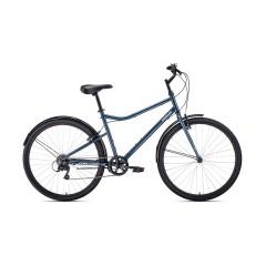 """Велосипед FORWARD PARMA 28 (28"""" 7 ск) серый/черный"""