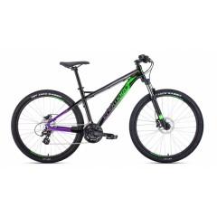 """Велосипед FORWARD QUADRO 27.5 3.0  disk алюм. (27.5"""" 24ск рост 17"""") черный"""