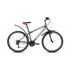 "Велосипед FORWARD SPORTING 1.0 (26"" 18 ск рост 15"")серый мат."