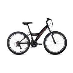 """Велосипед FORWARD DAKOTA 24 1.0 (24"""" 18 ск. рост 13"""") 2020-2021, черный, RBKW1J14E002"""