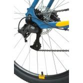 """Велосипед FORWARD APACHE 29 3.2 disc (29"""" 21 ск. рост 17"""") 2020-2021, бирюзовый/оранжевый"""