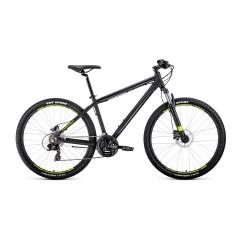 """Велосипед APACHE 27,5 3.0 disc алюм. (27,5"""" 21ск рост 19'') черный матовый /, RBKW0M67Q004"""