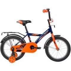 """Велосипед NOVATRACK 16"""" ASTRA синий, тормоз нож, крылья, багажник, полная защ.цепи"""