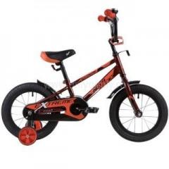 """Велосипед NOVATRACK 18"""", EXTREME, коричневый, полная защита цепи,  тормоз нож, короткие крылья, нет"""