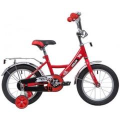 """Велосипед NOVATRACK 18"""", URBAN, красный, защита А-тип, тормоз нож., крылья и багажник хром."""