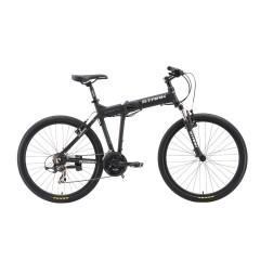"""Велосипед Stark'19 Indy 26.2 D черный/голубой/белый 20"""""""