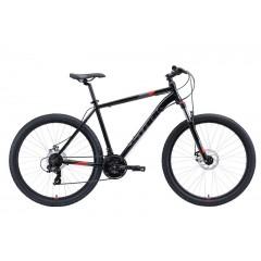 """Велосипед Stark'20 Hunter 27.2 D черный/серый/красный 18"""""""