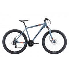 """Велосипед Stark'20 Hunter 27.2+ HD серый/черный/оранжевый 18"""""""